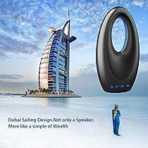 QITECO Mode Portable Wireless Bluetooth Lautsprecher mit FM Radio, Build in Mic TF Karte, Unterstützung AUX zuSubwoofer für Laptop, IPAD, Smartphone sein