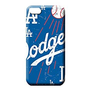 iphone 5 5s cases Shockproof fashion phone cover skin los angeles dodgers mlb baseball