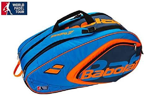 Babolat RH Club Padel WPT- Paletero para padel, azul y naranja, 60 ...