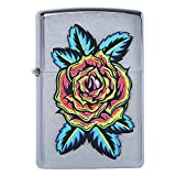 Zippo 29399 FLOWER TATTOO Lighters Made in USA South Korea Version