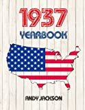 1937 U.S. Yearbook: Interesting original book full of facts and figures from 1937 - Unique birthday gift / present idea!