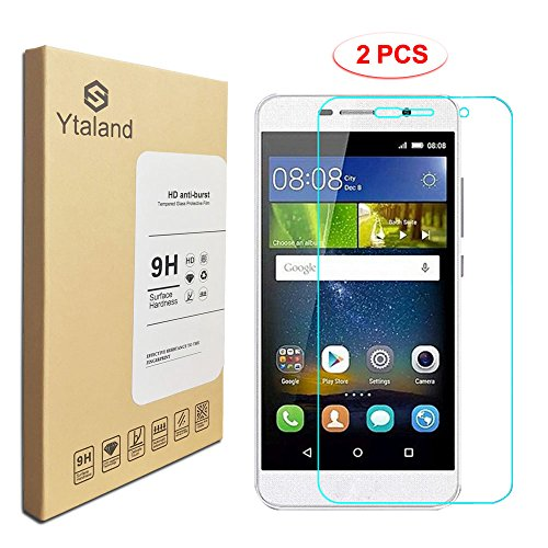 Tempered Glass Screen Protector for Huawei Y6 Pro - 9