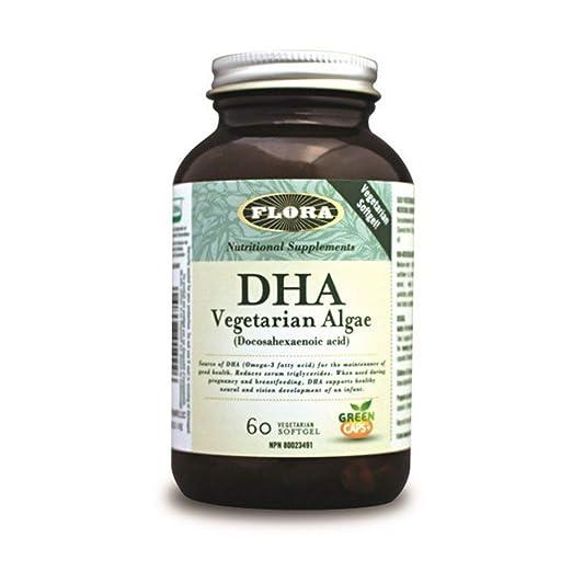 Flora DHA Vegetarian Algae 60 Vegetarian Softgels
