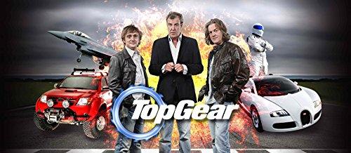 Top Gear Poster Huge Wall Art Jeremy Clarkson Richard Hammond James May Stig Bbc