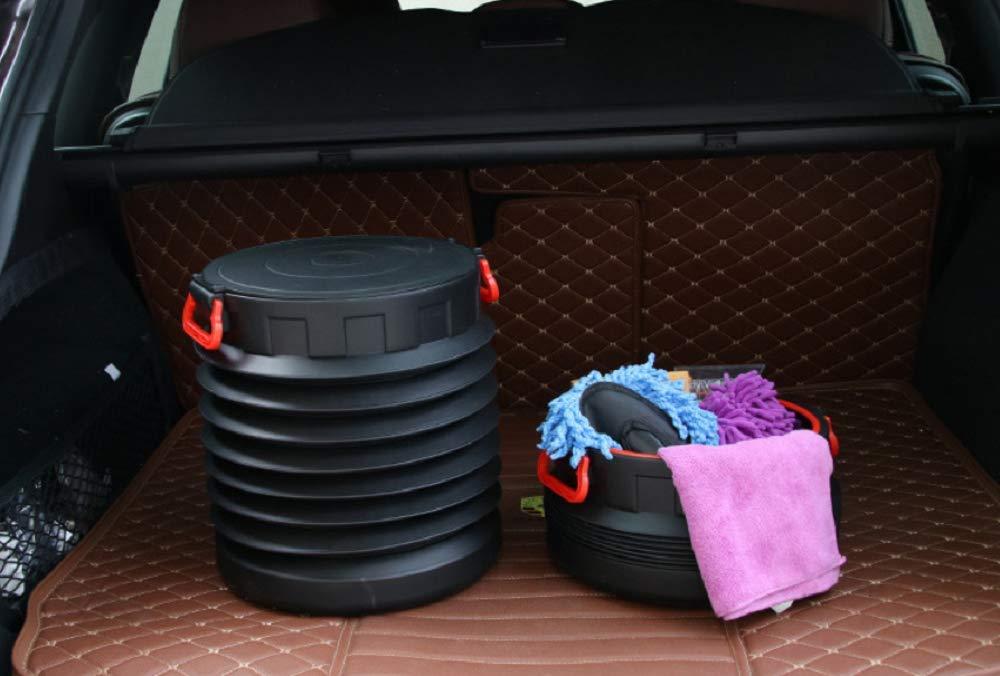 Amazon.com: Tianrui Corona 25L coche plegable cubo de pesca ...