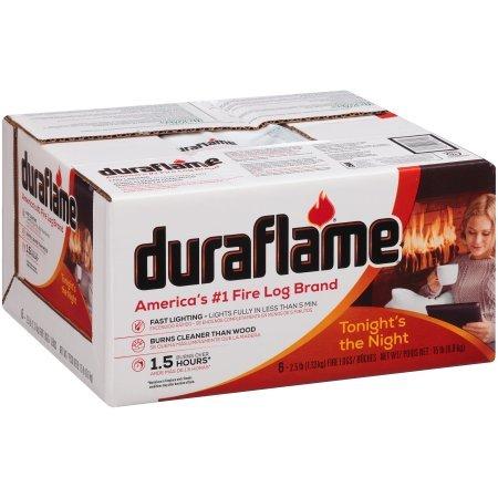 Duraflame 625 Firelog (6 Pack), 2.5 lb (5) by Duraflame