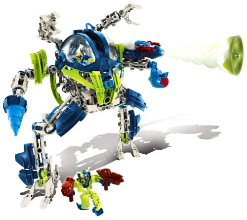 Mega Bloks Neoshifters  Neo Battle Walker  Templar Hydrax Launcher