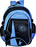 DZert Foot Ball 40 Ltrs Big Waterproof School Bags, College, Laptop, Luggage Backpack for Boys Girls (Blue)