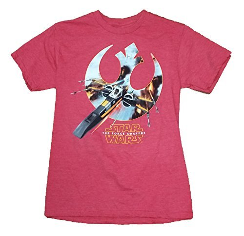 Star Wars The Force Awakens Rebels Squad Graphic T-Shirt - Small