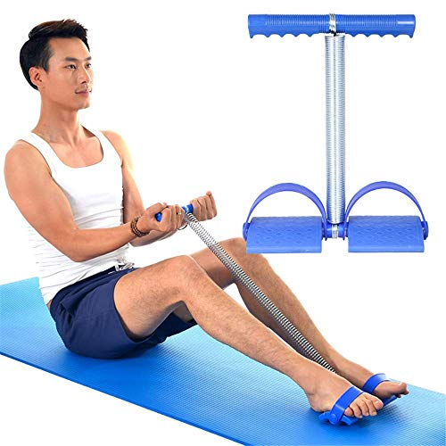 DRLGC Pedal Expansion Elastic Resistance Band, Exercise Abdomen Home Fitness Equipment Set Men and Women Pedal Pull Rope, Fitness Equipment, Physical Therapy Stretching