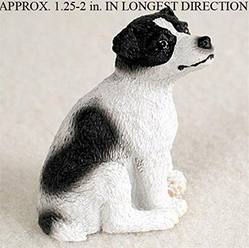 Ky & Co YesKela Jack Russell Terrier Mini Resin Dog Figurine Statue Hand Painted