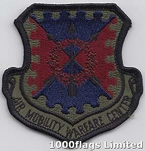 Aire movilidad Guerra centro Subdued escudo nosotros fuerza aérea parche bordado