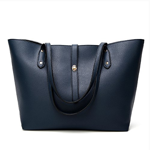Wallets Satchel Shoulder Blue Designer Ladies Tote Women Handbags Bags TcIFE for wC6HqzB