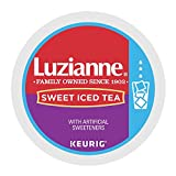 k cups for iced coffee - Luzianne Sweet Iced Tea Keurig K-Cup Pods (24 Count)