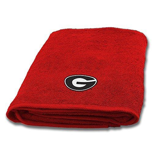 Northwest COL 929 Georgia Bulldogs NCAA Applique Bath Towel