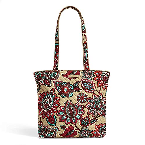 Vera Bradley Iconic Tote Bag, Signature Cotton, Desert Floral, Desert Floral, One Size