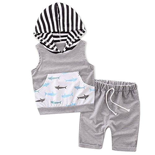 Baby Hoody Vest - 9