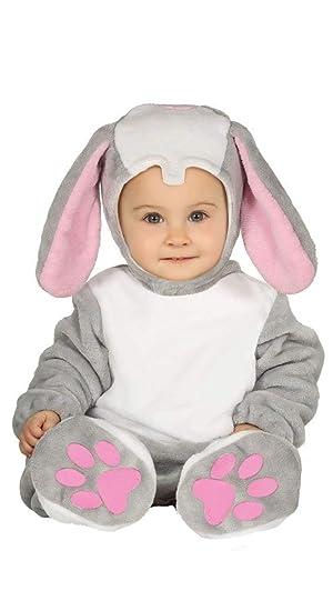 Baby Hasenkostüm 90 cm 1-2 Jahre Hase Kostüm Overall Plüsch Strampler Häschen
