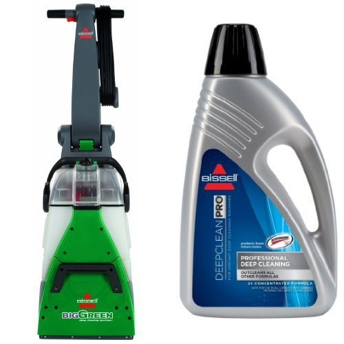 Professional Deep Cleaning Bundle - Big Green + Deep Clean Pro 2X Deep Cleaning Formula, 48 (48 Ounce Carpet Cleaner)