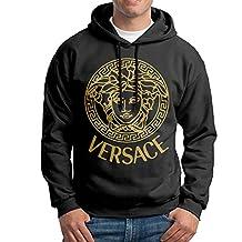SARAH Men's Versace Logo Hoodie