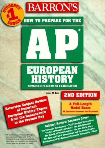 How to Prepare for the Advanced Placement Examination European History (Barron's How to Prepare for the Advanced Placeme