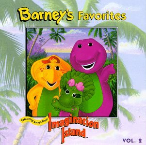 Barney's Favorites, Vol. 2 (featuring songs from Imagination Island) (Barney Sing A Long Songs Cd)