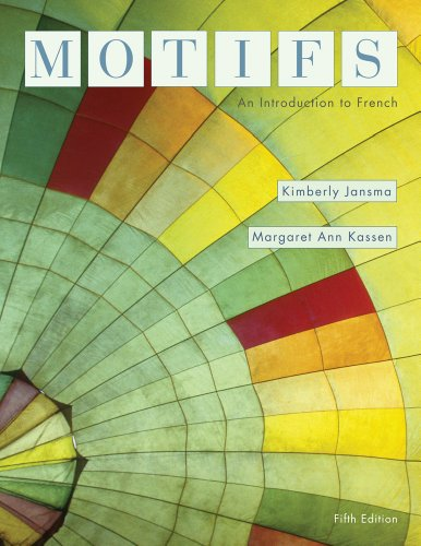 Bundle: Motifs: An Introduction to French, 5th + Student Activities Manual + Premium Web Site 2-Semester Printed Acess C