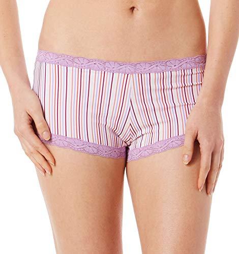 Maidenform Hip Fit Boyshort Panties (40760) 8/Candy Stripe w/Iris