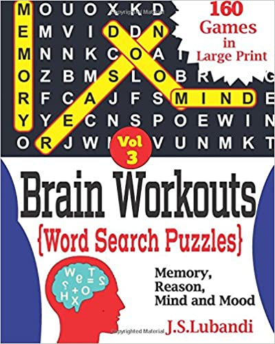 Brain Workouts(WORD SEARCH) Puzzles (Volume 3)