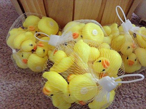 A Little Lemon Mini Yellow Rubber Bath Ducks for Child 20pcs/set (Duck Plastic)