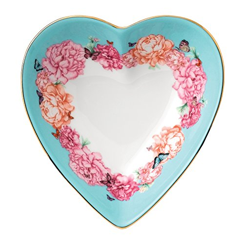 Royal Albert 40025911 Miranda Kerr Devotion Heart Tray 5, 5, Multicolor
