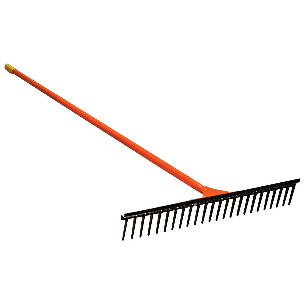 A.M. Leonard All Steel Straight Rake - 24 Inches