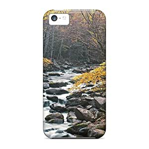 Tpu Case For Iphone 5c With Little River Tremont Great Smoky Mountains National Park Tennessee