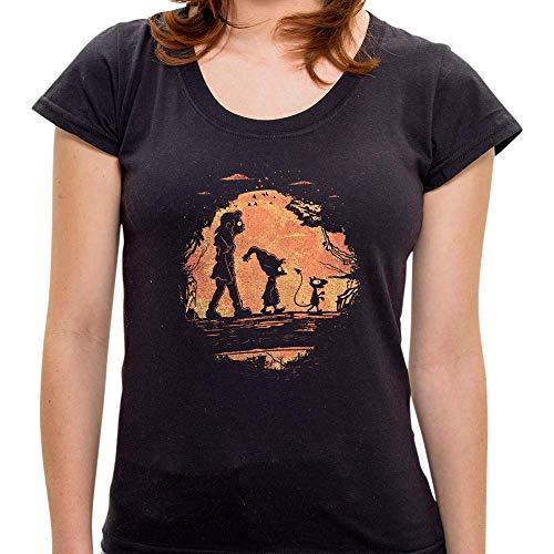 Pr - Camiseta Friends In The Jungle - Feminina - Gg