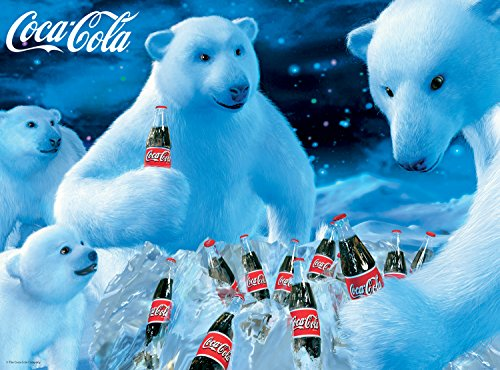 Buffalo Games - Coca-Cola - Polar Bears - 1000 Piece Jigsaw Puzzle