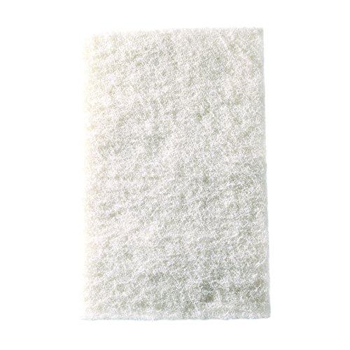 "Mercer Industries 4201WH Floor Sanding Pads, 12"" x 18"", White, 5 Pack"