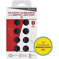 Hyperkin silicona Pulgar Grips para Nintendo Switch joy-con (Neo Negro), diseño de Nintendo Switch