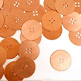 ImpressArt, Button, Large, Copper, Stamping Blanks- 24