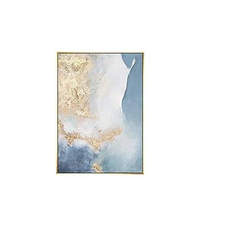 Amazon.com: SUMIANYH Pinturas al óleo pintadas a mano 100 ...