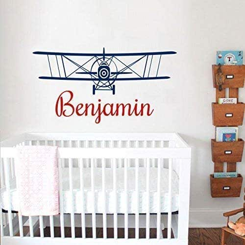 Amazon.com: Airplane Wall Decal Boy Airplane Wall Sticker ...