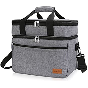 Amazon Com Lifewit Insulated Lunch Bag Box 15l 17 Can