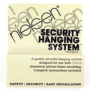 Nielsen Metal Picture Frame Security Hanging System