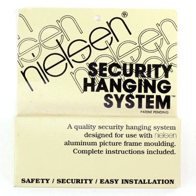 Nielsen Metal Picture Frame Security Hanging System - - Amazon.com