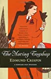 Front cover for the book The Moving Toyshop by Edmund Crispin