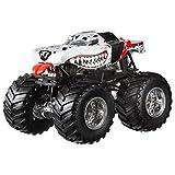 Hot Wheels Monster Jam Mutt Dalmatian Die-Cast Vehicle, 1:24 Scale