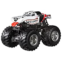 Hot Wheels Monster Jam Mutt Dalmatian Die-Cast Vehicle, 1:24 Scale