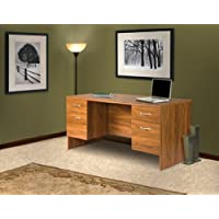 American Furniture Classics Executive Double Pedestal Desk