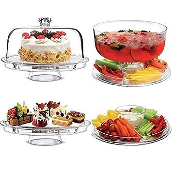 4 en 1 Serviteur Présentoir à gâteaux - Multifonction ...