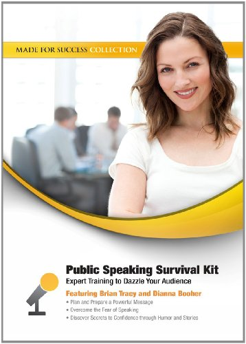 Public Speaking Survival Kit: Expert Training to Dazzle Your Audience (Made for Success Collection)(Library Edition) by Made for Success, Inc. and Blackstone Audio, Inc.