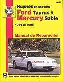 Ford Taurus and Mercury Sable 1986-95, John Haynes, 1563922487